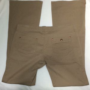 Mavi Khaki Tan Flared Pants